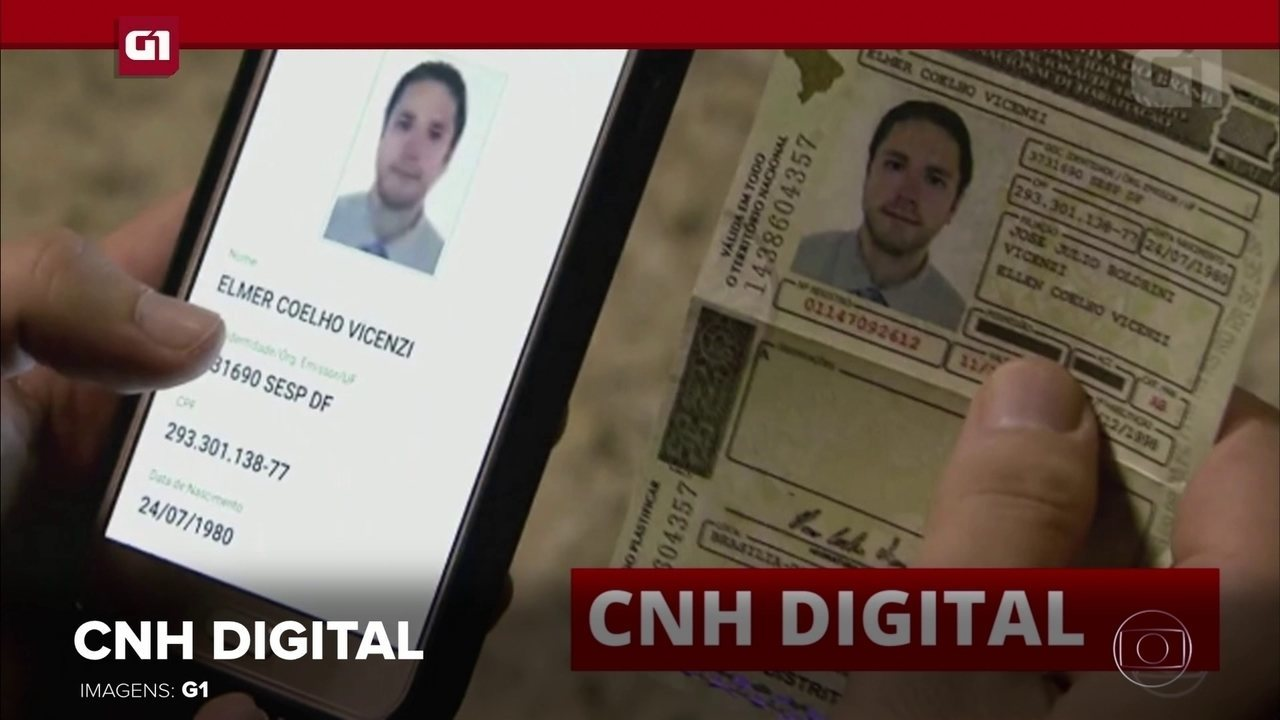 G1 em 1 Minuto: CNH digital deve ser implantada até 1º de fevereiro de 2018