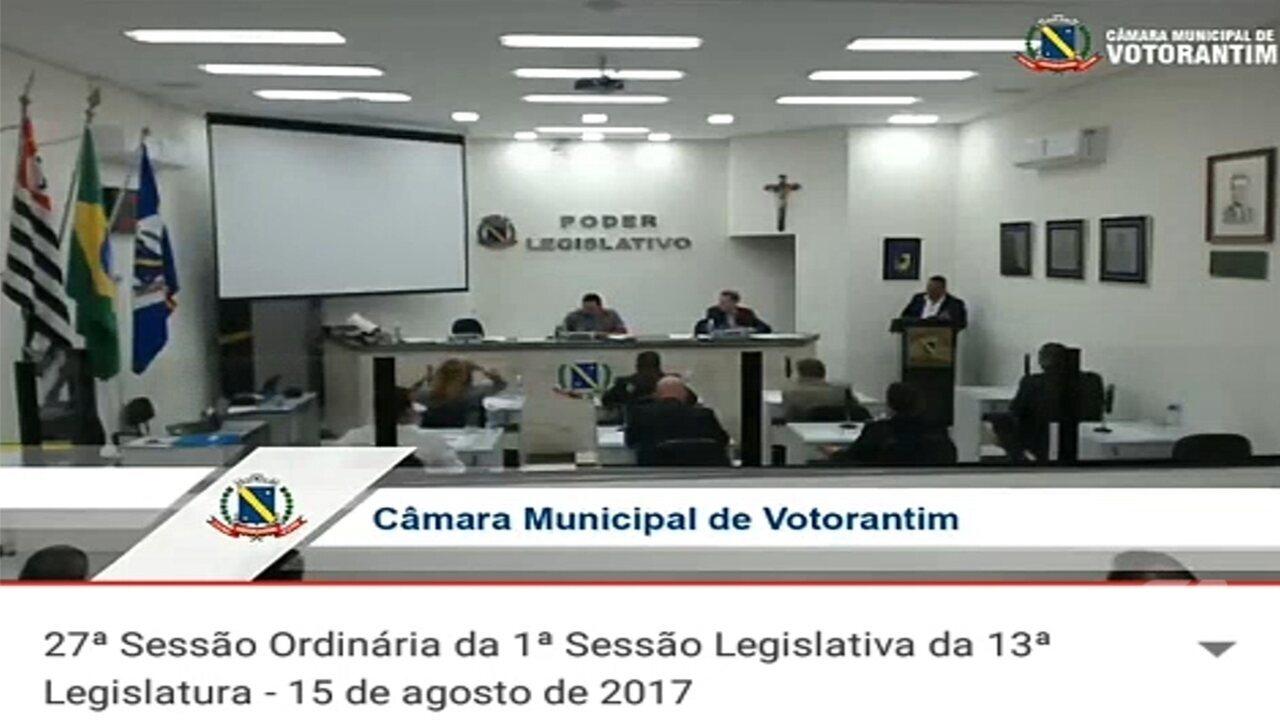 'Gemidão' do WhatsApp interrompe sessão da Câmara em Votorantim