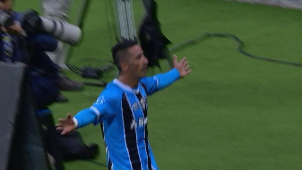 Veja o gol de Barrios desde o início da jogada