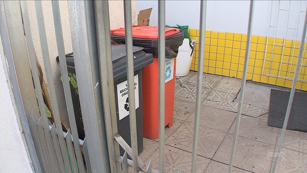 Lixo hospitalar é descartado de forma irregular por falta de coleta