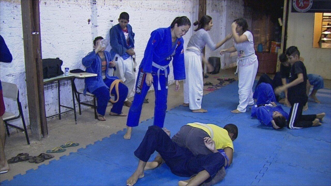 9529e86a4b Projeto social de jiu-jítsu busca dar qualidade de vida a crianças carentes  em RO