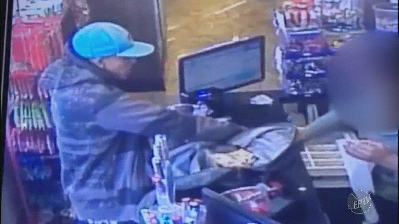 Assaltante rouba mesma padaria quatro vezes em duas semanas no Vista Alegre, em Campinas