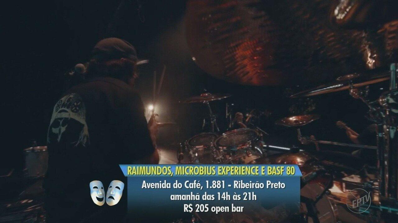 Saiba quais são as atrações neste final de semana na região de Ribeirão Preto
