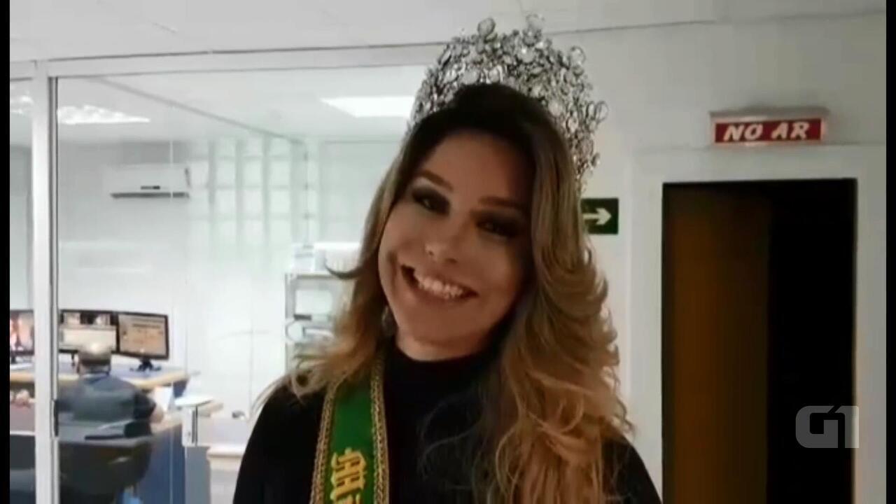 Atual Miss Brasil Gay Sheila Veríssimo convidou público para o evento deste sábado (19)