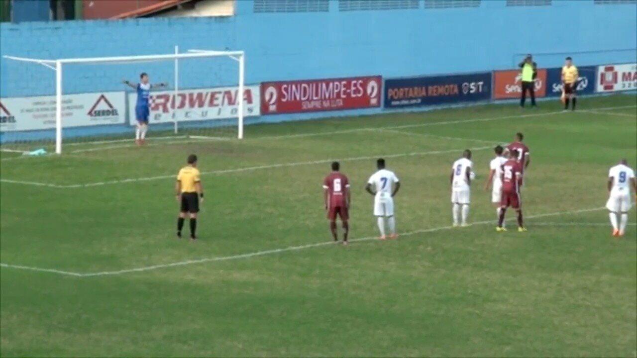 Os gols de Vitória-ES 1 x 2 Desportiva Ferroviária, pela Copa Espírito Santo 2017