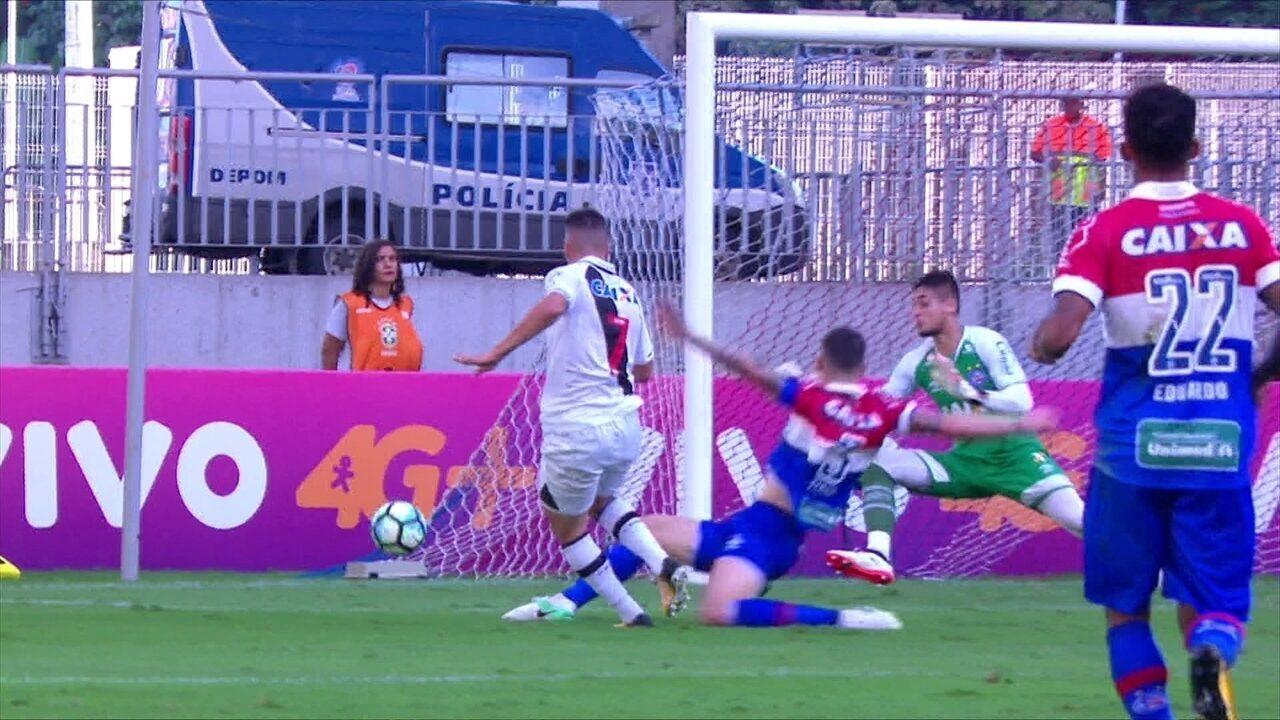 Melhores momentos de Bahia 3 x 0 Vasco pela 21ª rodada do Brasileirão 2017