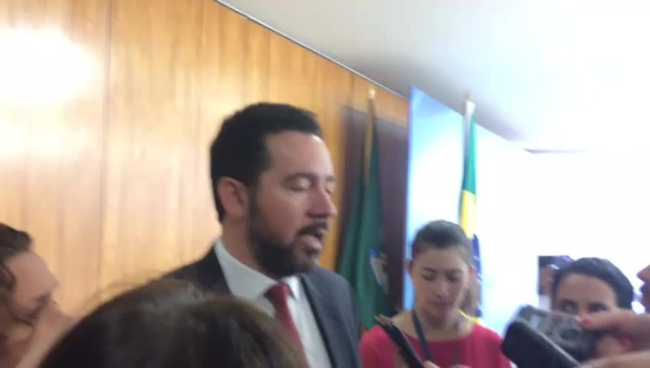 Ministro do Planejamento, Dyogo Oliveira, fala sobre privatização da Eletrobras