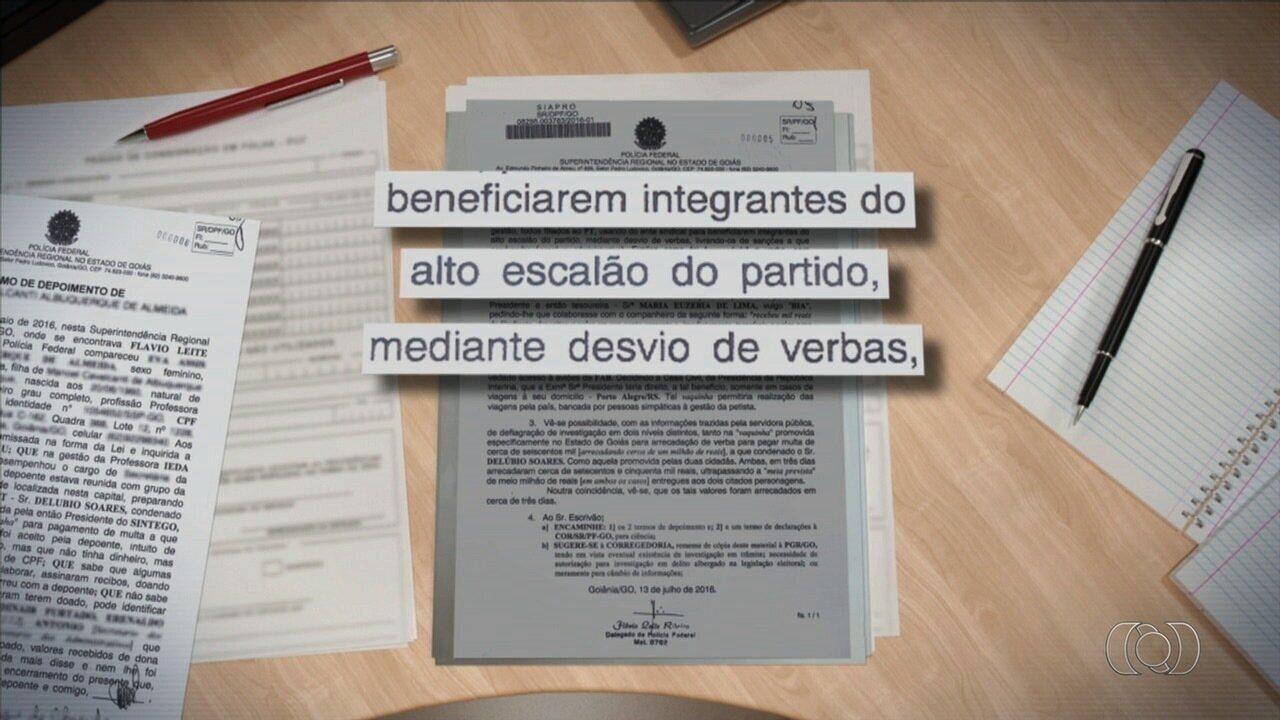 MP apura se verba do Sintego foi desviada para pagar multa de Delúbio Soares