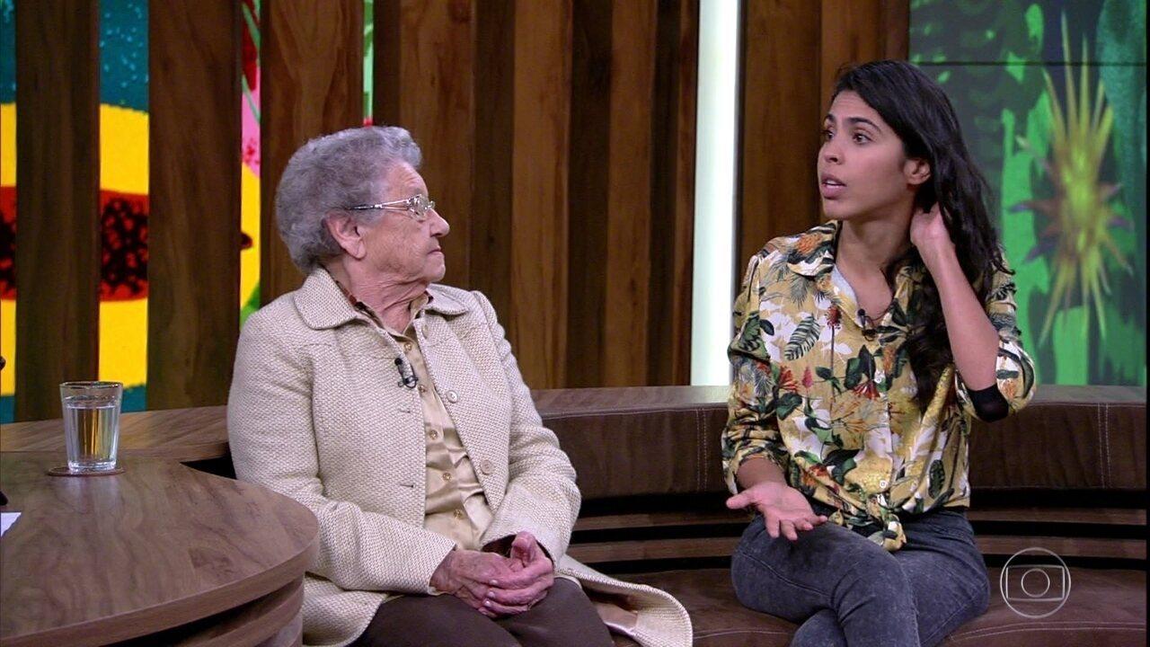 Bela Gil fala sobre consumo da placenta após o parto