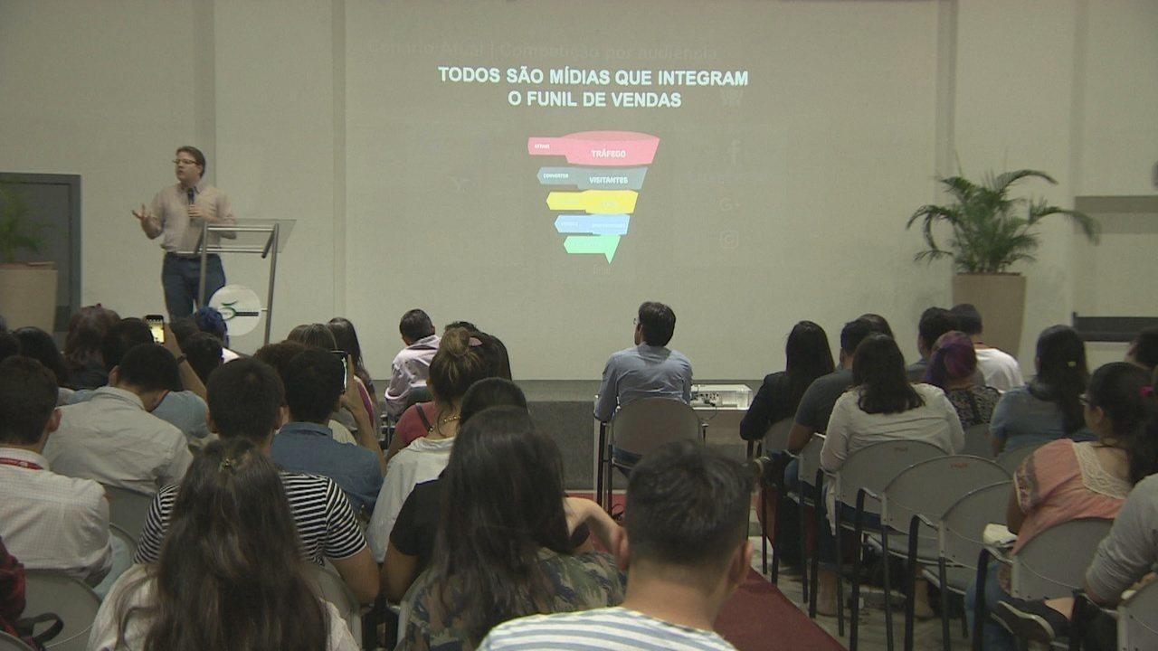 Especialista em conteúdo para internet da Rede Globo faz palestra em Manaus