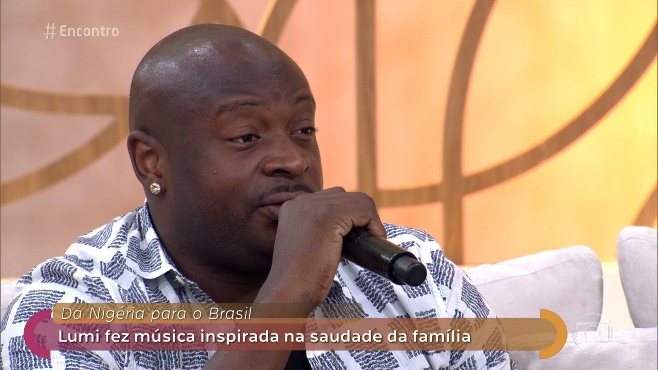 Lumi deixou a Nigéria e formou família no Brasil
