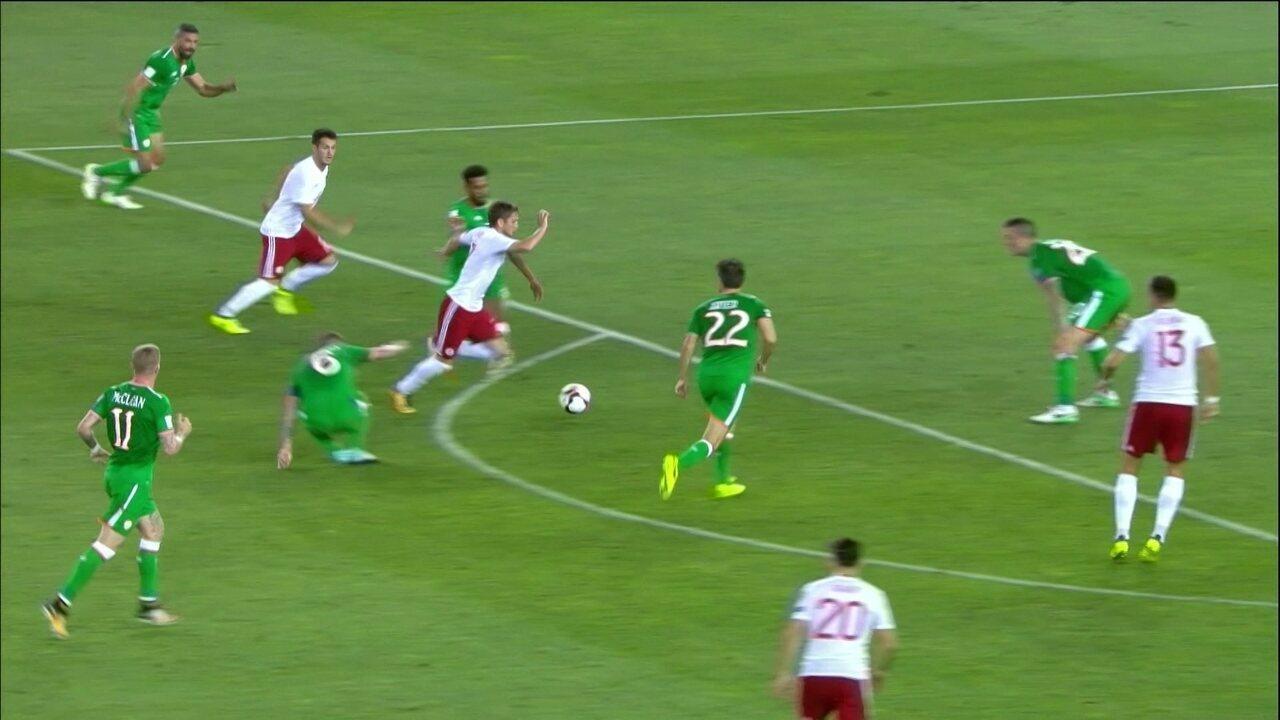 Sérvia vence a Irlanda e segue na liderança do Grupo D — Eliminatórias