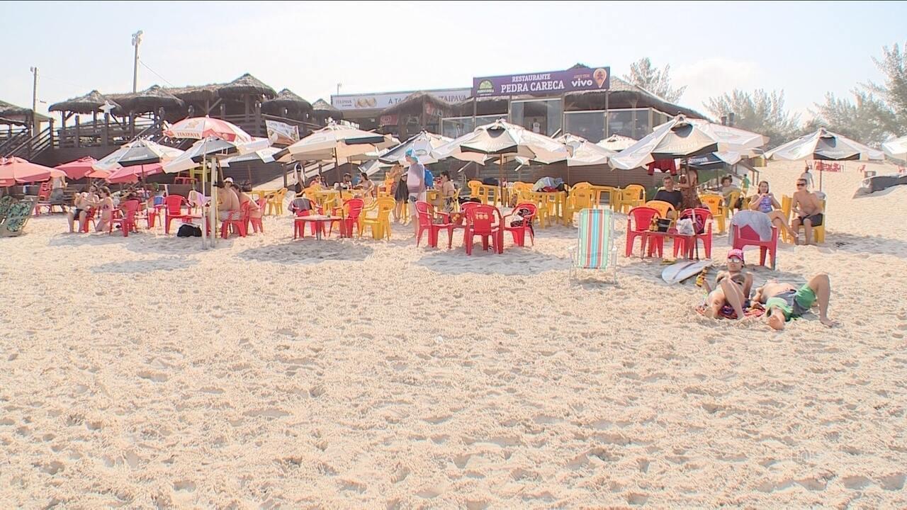 Justiça ordena demolição de quatro bares na Praia da Joaquina