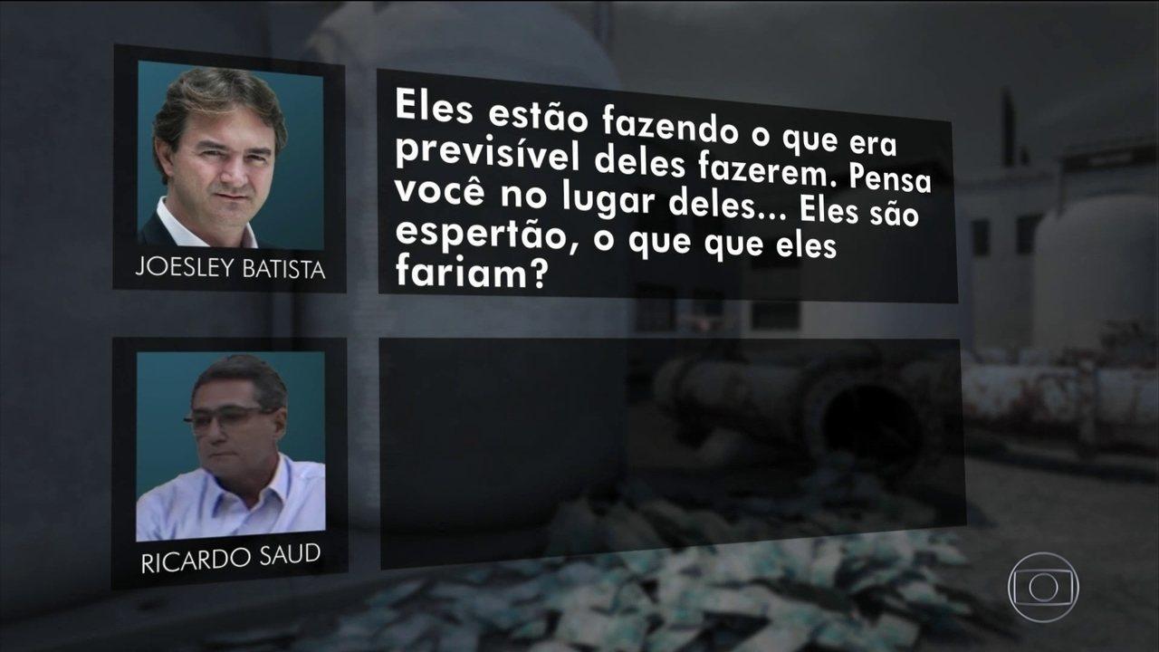 Joesley especula sobre se Janot tem ideia de conversas com Marcelo Miller