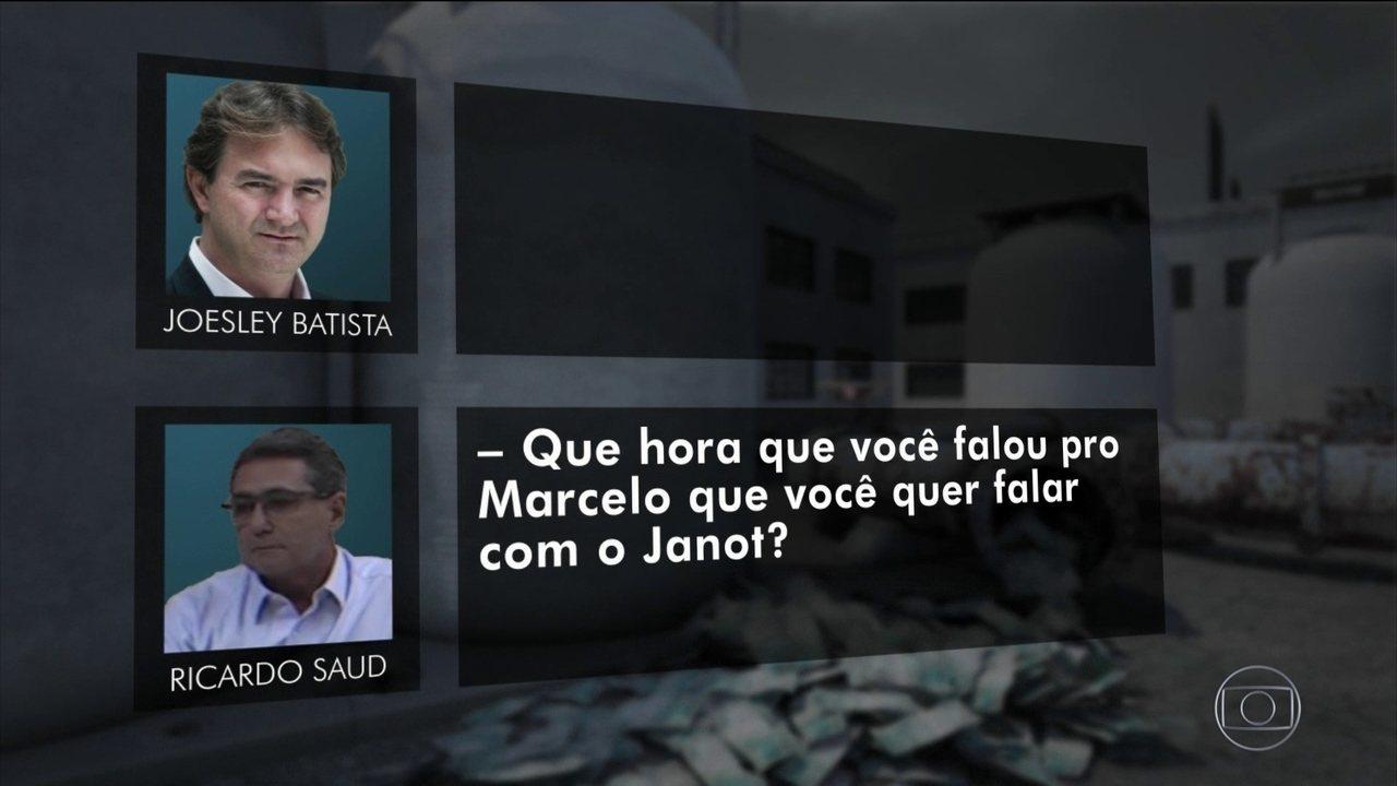 Ricardo Saud propõe a Joesley que peçam a Marcello Miller uma conversa com Janot