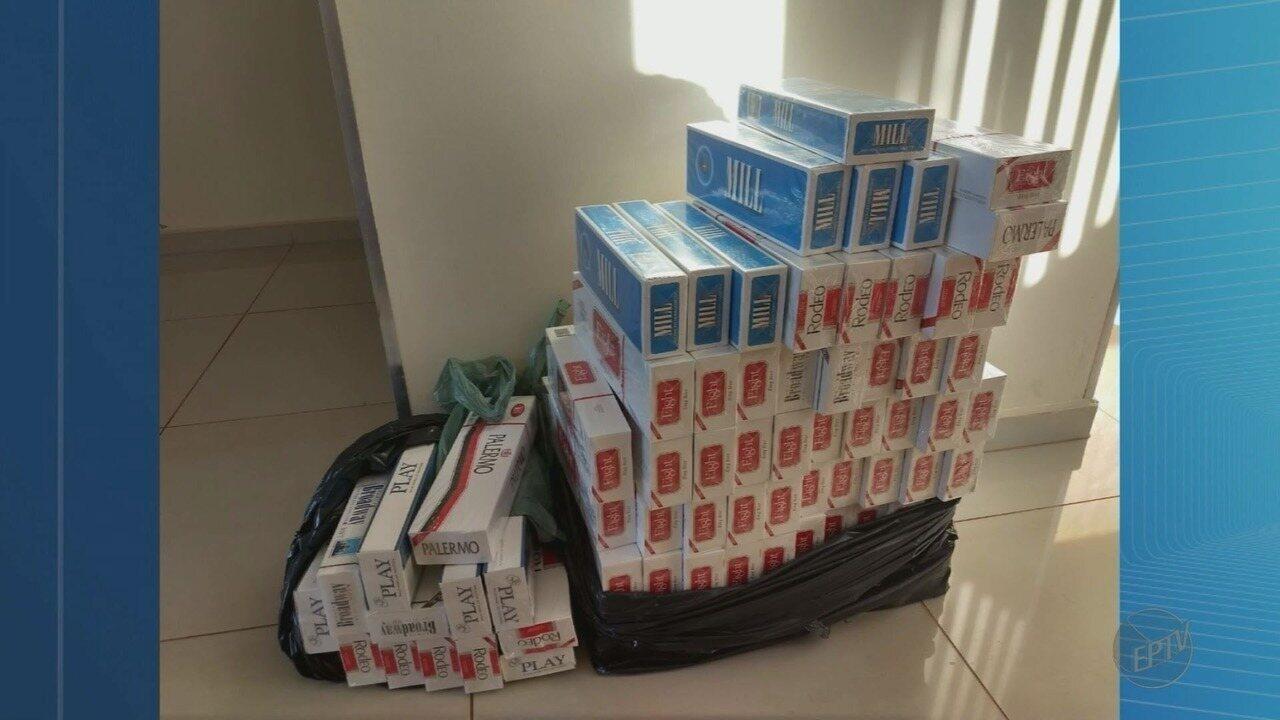 Homem é preso com 20 mil caixas de cigarros contrabandeados em São Joaquim da Barra, SP