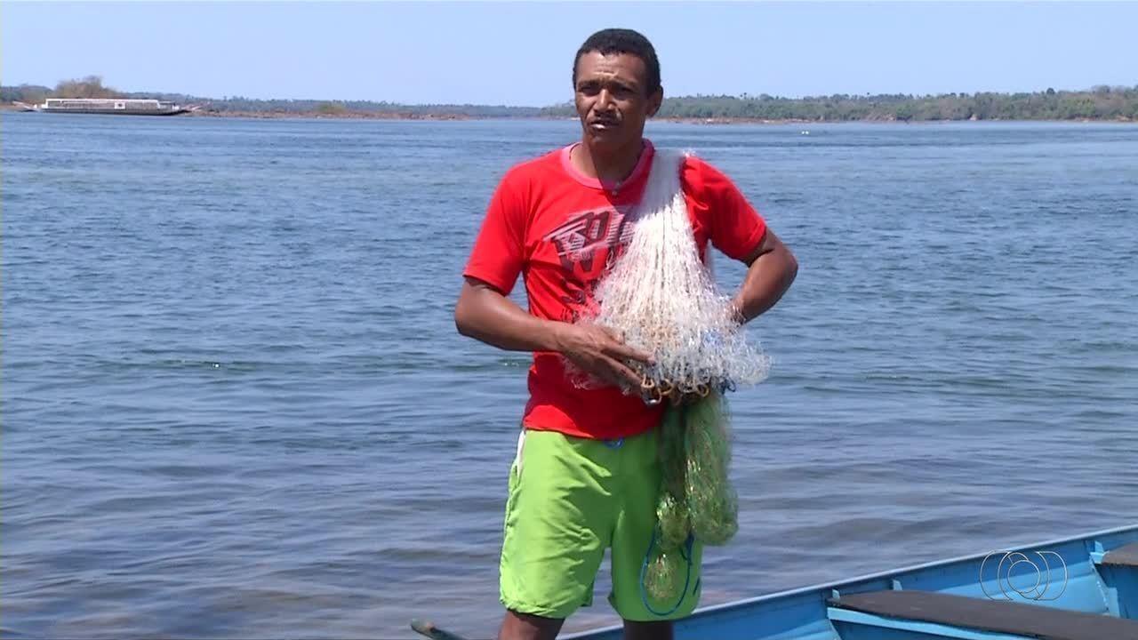 Nível do rio Tocantins continua diminuindo e situação preocupa pescadores