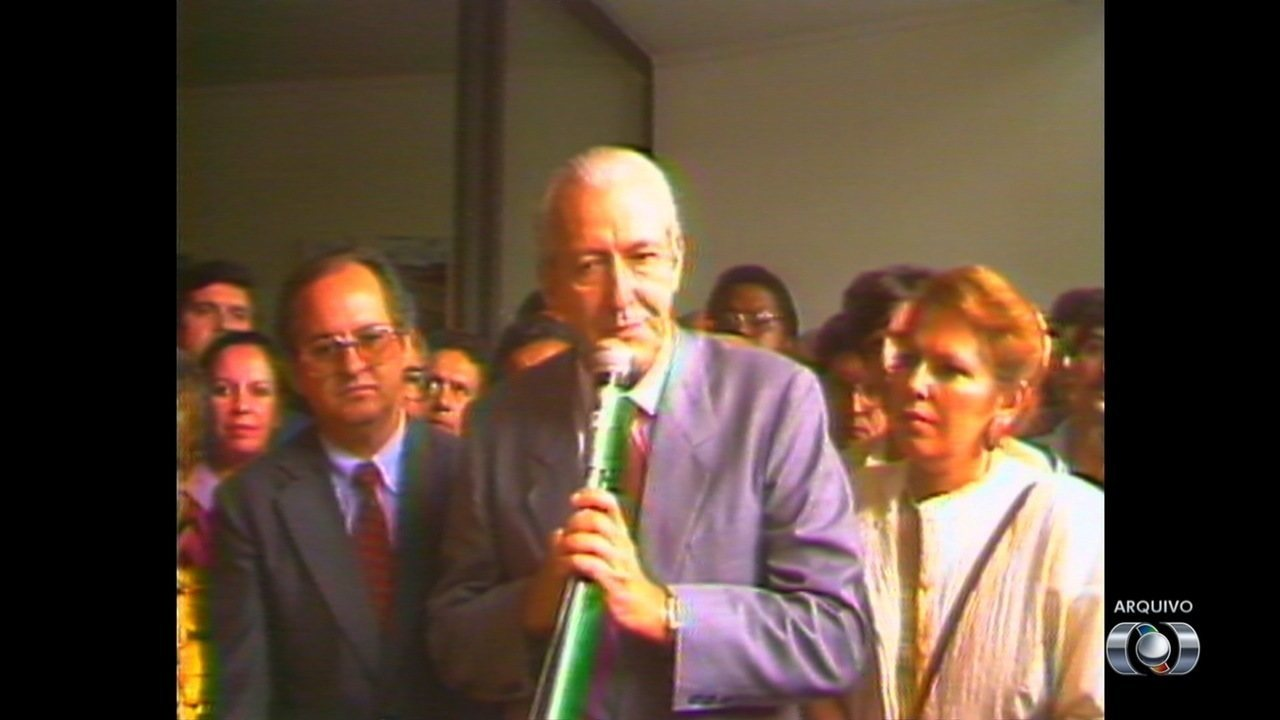 Ex-prefeito Nion Albernaz morre aos 87 anos, em Goiânia