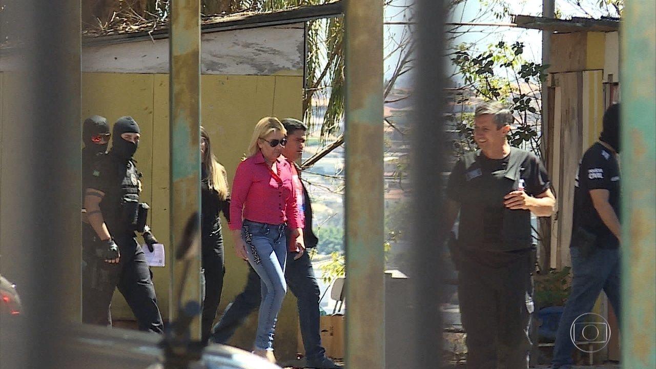 Prefeita de Santa Luzia é presa por suspeita de envolvimento em morte de jornalista