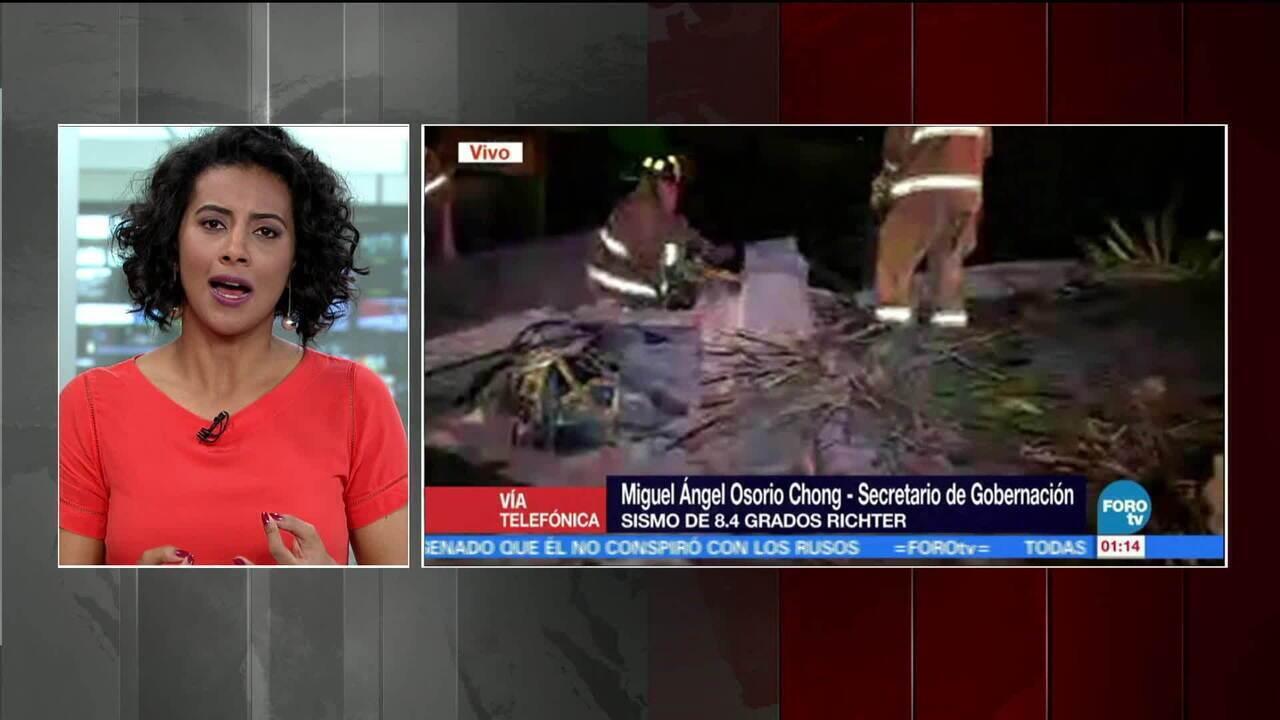 Ministro vice-chefe de missão da embaixada mexicana comenta sobre terremoto