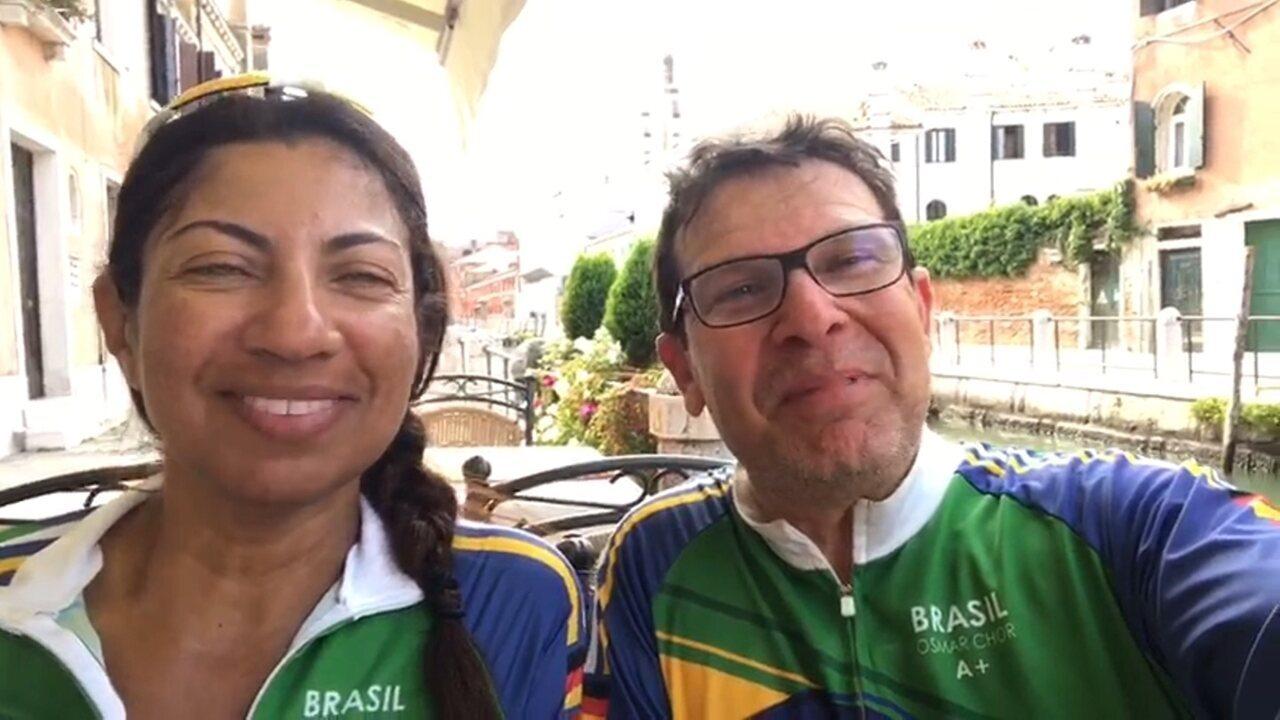 Ciclistas cumprem meta e finalizam desafio de mais de 1000 km de bike pela Europa