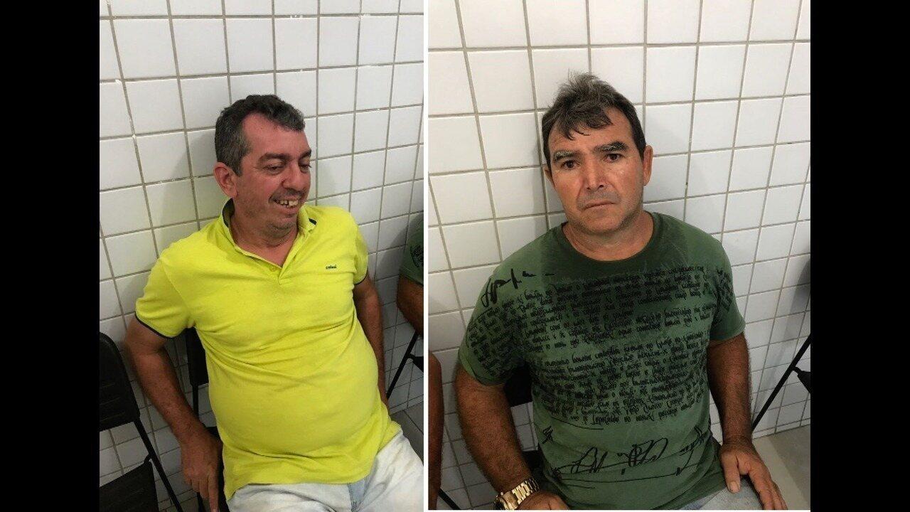 Polícia prende no RN mais dois suspeitos de participação em explosão de banco na PB