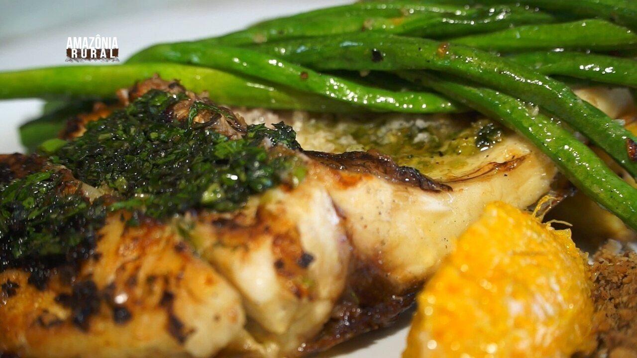 Parte 2: Veja como preparar uma deliciosa costela de tambaqui na churrasqueira