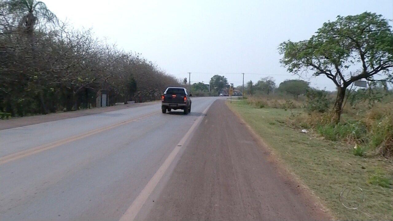 Mulher é encontrada ferida em rodovia de Corumbá