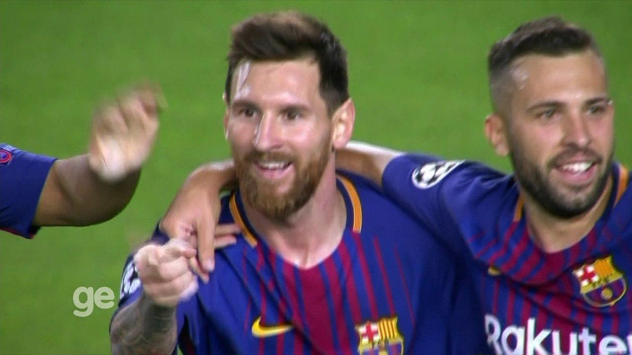 Confira os gols da primeira rodada da Liga dos Campeões 2017/2018