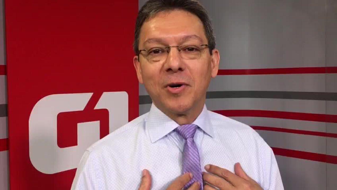 Dr. Luiz Antônio, comentarista da TV Globo Brasília, agradece homenagem de paciente