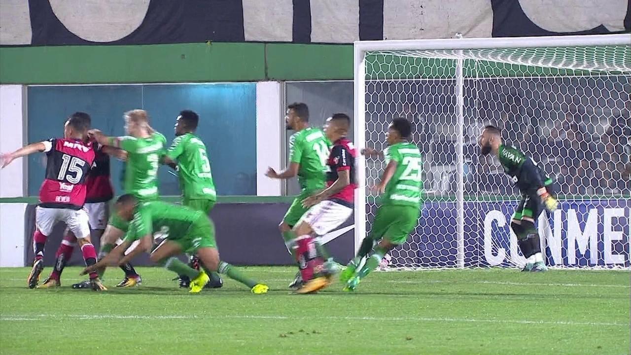 Melhores momentos: Chapecoense 0 x 0 Flamengo pelas oitavas de final da Copa Sul-Americana