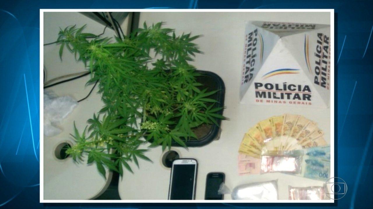 Três são detidos suspeitos de tráfico de drogas na Região Noroeste de Belo Horizonte
