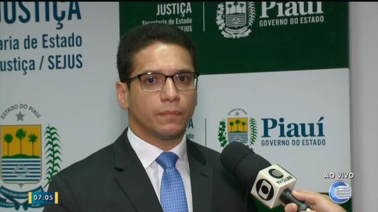 Secretário de justiça garante que presos serão recebidos no sistema prisional do Piauí