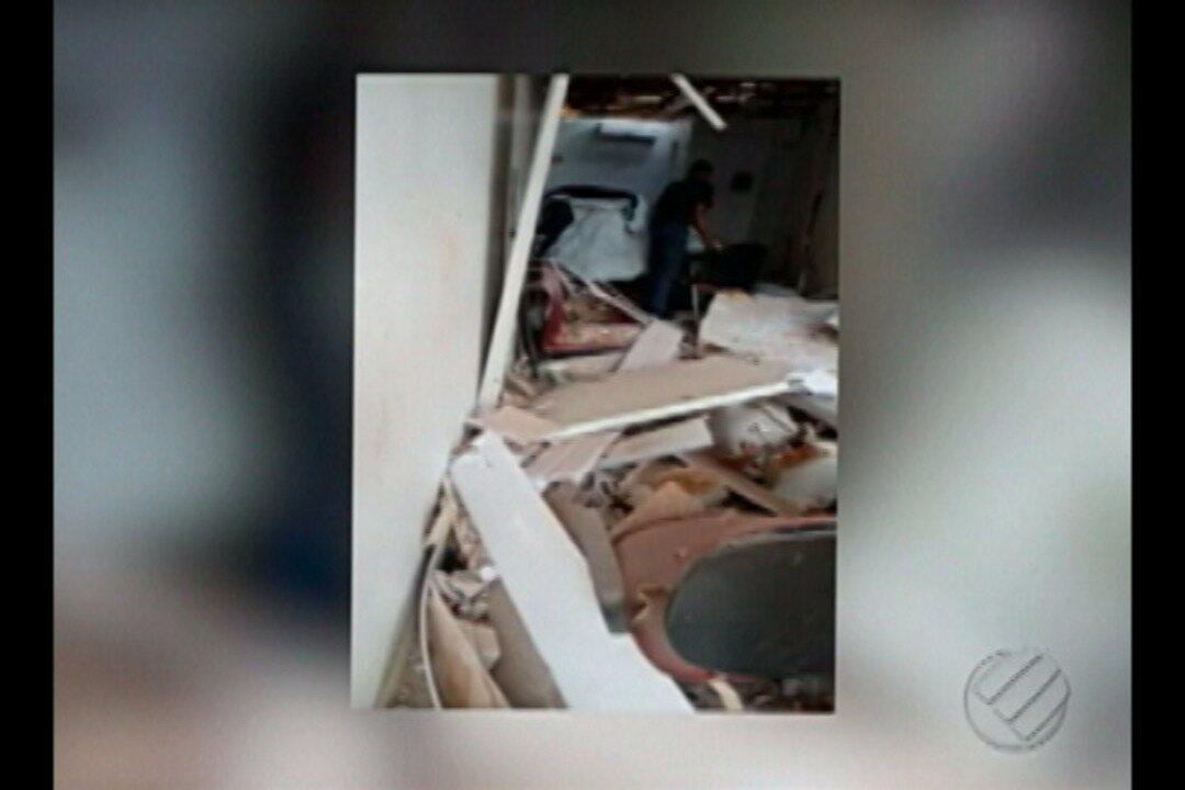 Caixa eletrônico é arrombado em ação criminosa, em Cumaru do Norte