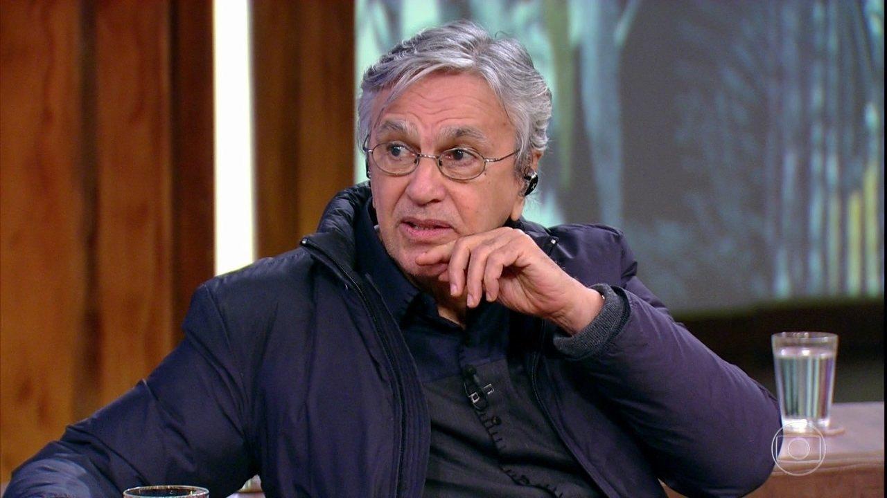 Caetano Veloso comenta a situação atual do Brasil