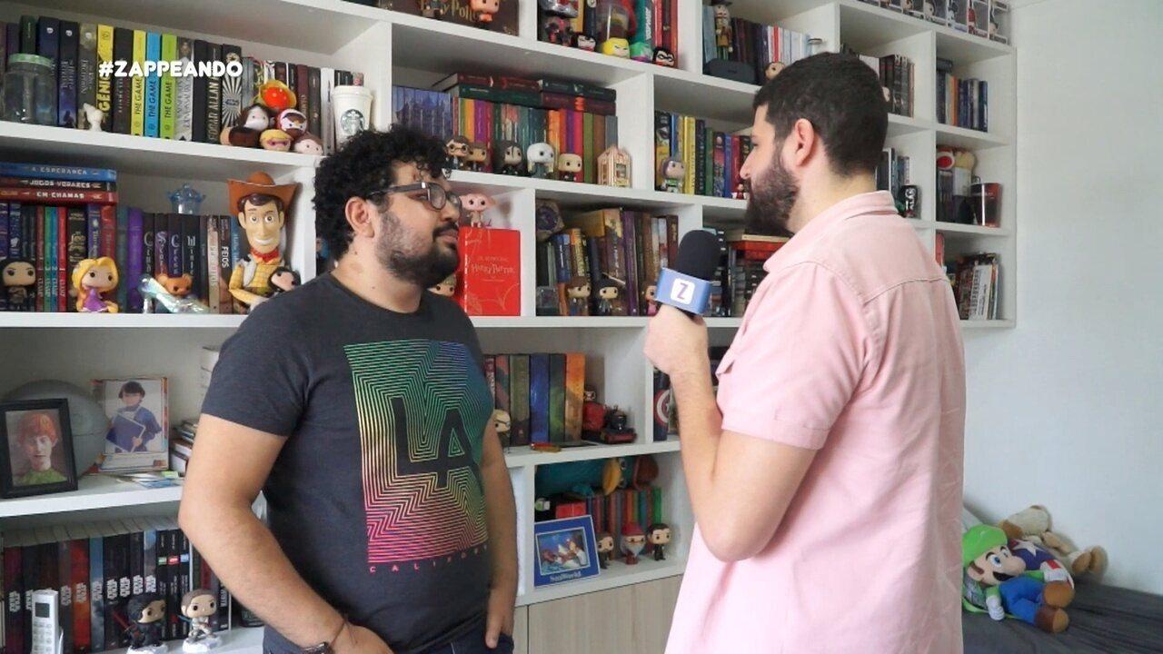 Combo Z: Quadro aborda o universo dos livros geek
