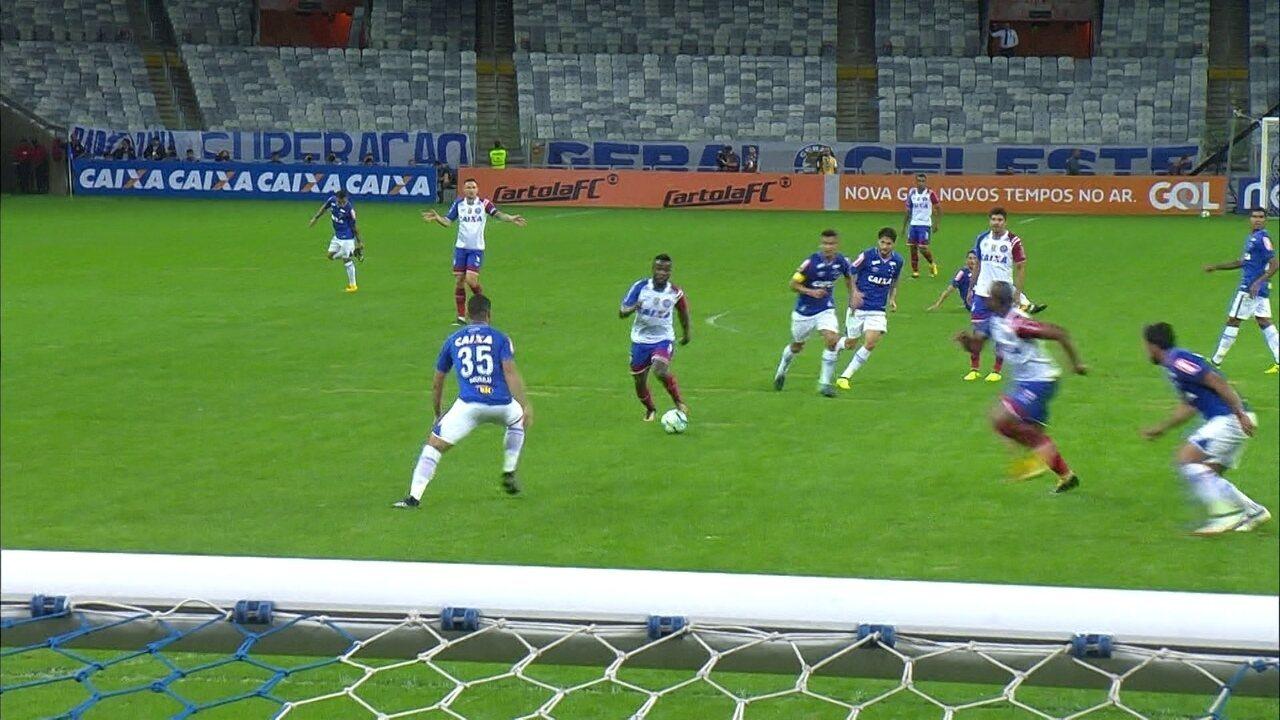 Melhores momentos de Cruzeiro 1 x 0 Bahia, pela 24ª rodada do Brasileirão