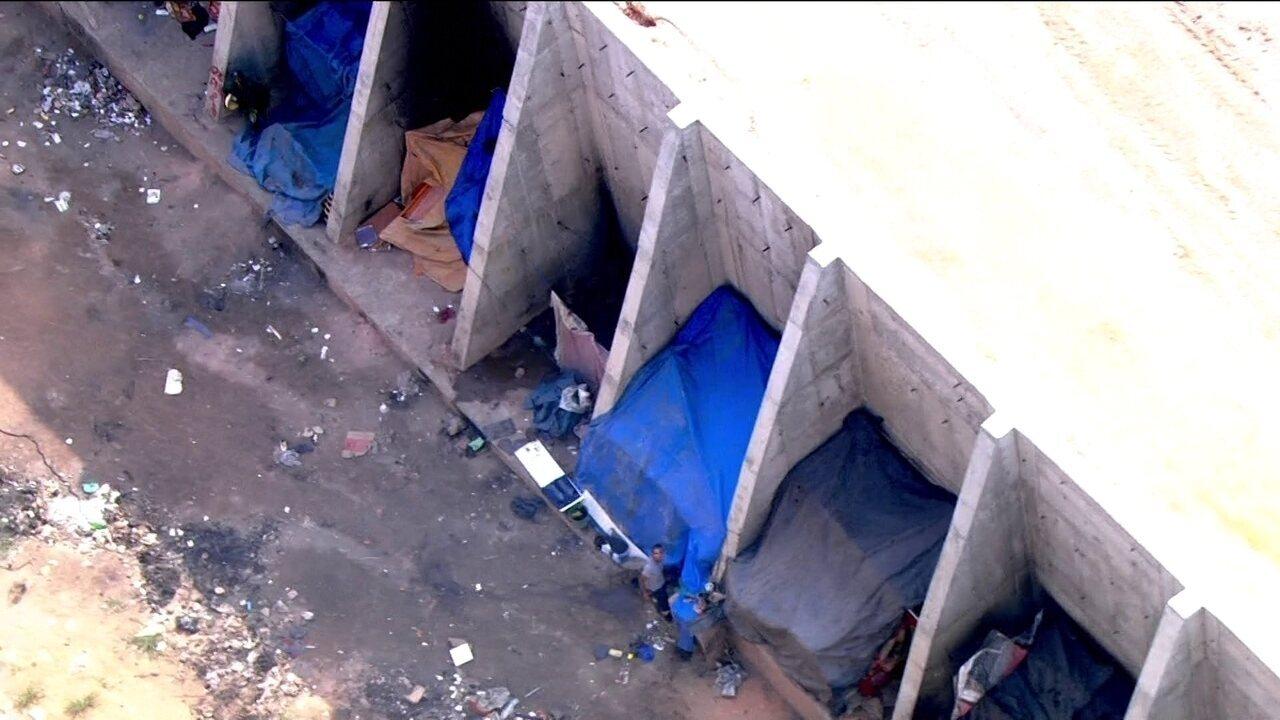 Obras da Linha 9- Esmeralda está abandonada e causa transtorno aos moradores da região