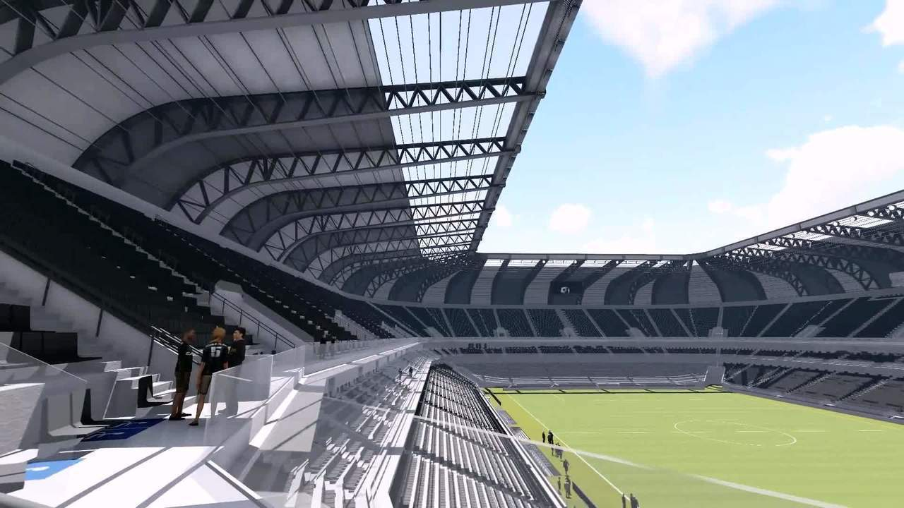 Por dentro da arena: confira o projeto do futuro estádio do Atlético-MG