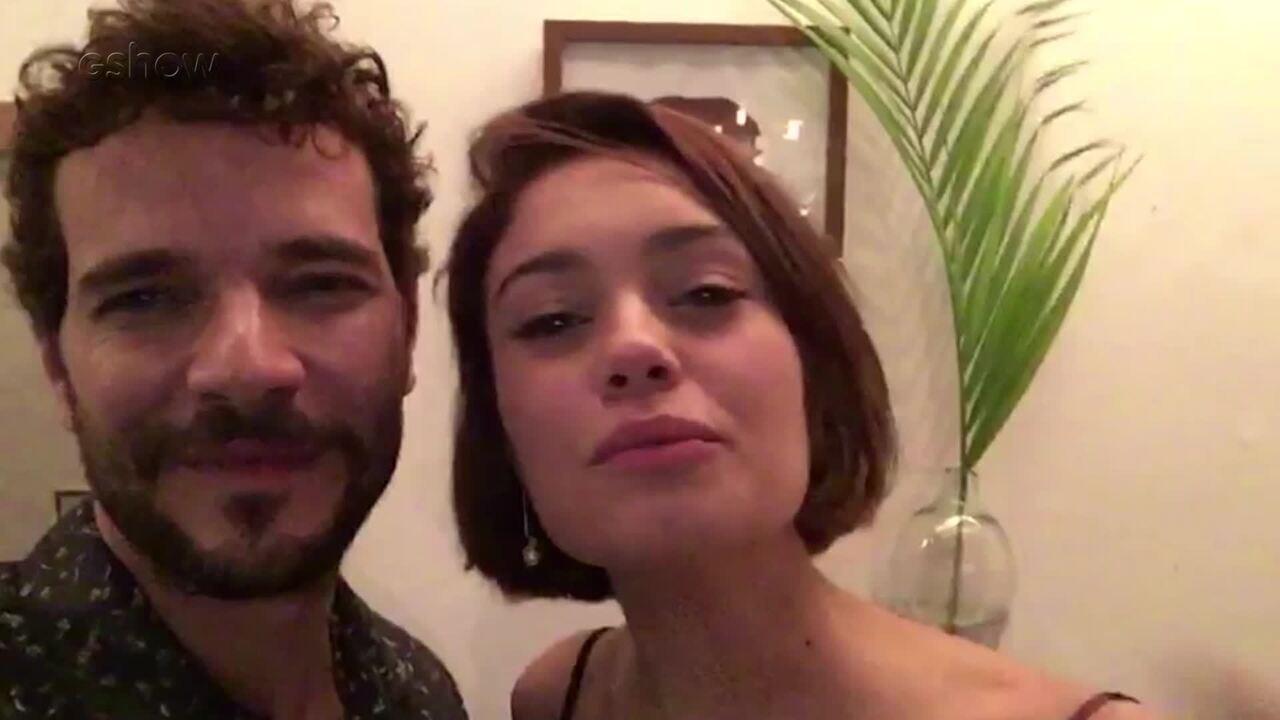 Sophie Charlotte e Daniel de Oliveira se despedem de 'Os Dias Eram Assim'
