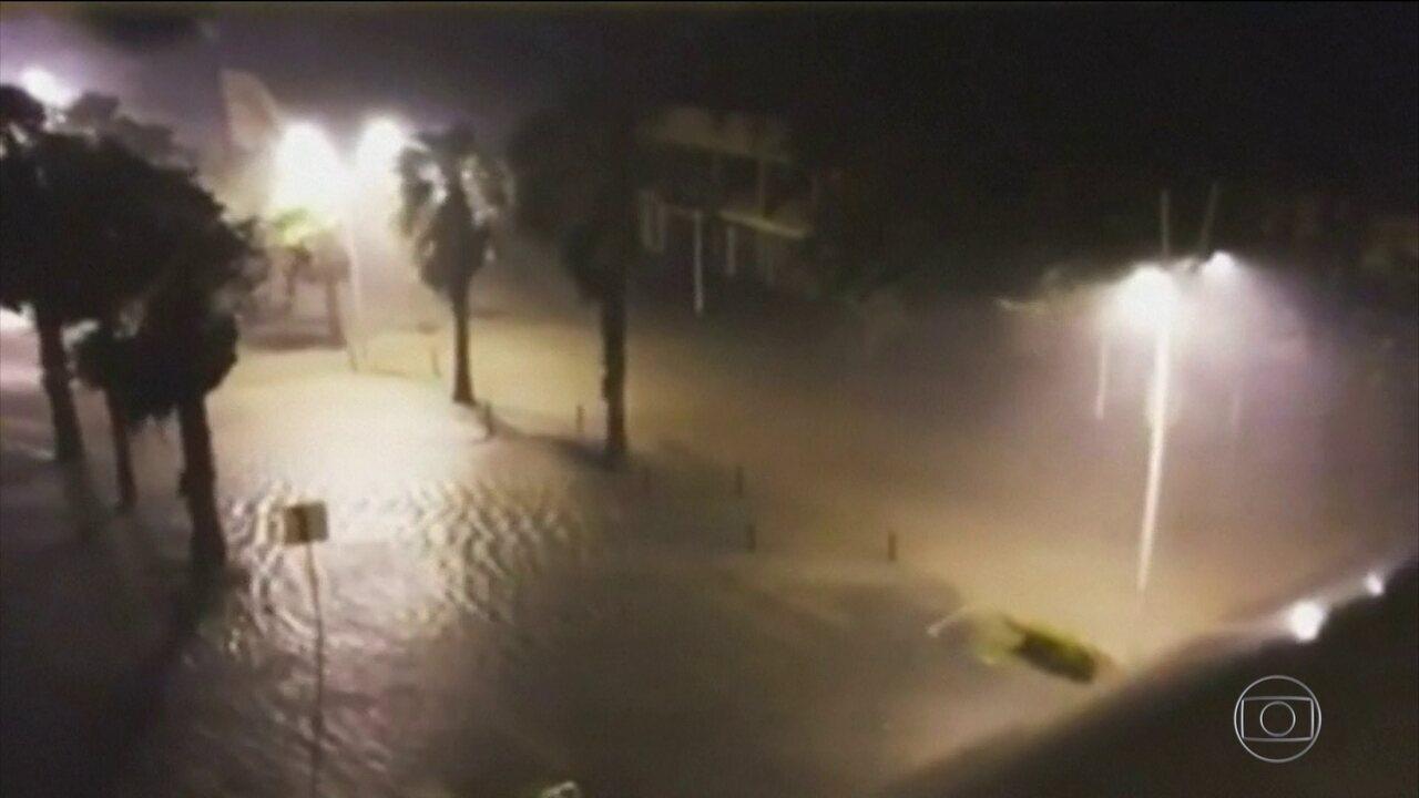 Furacão Maria alcança categoria 5 e provoca devastação em ilhas do Caribe
