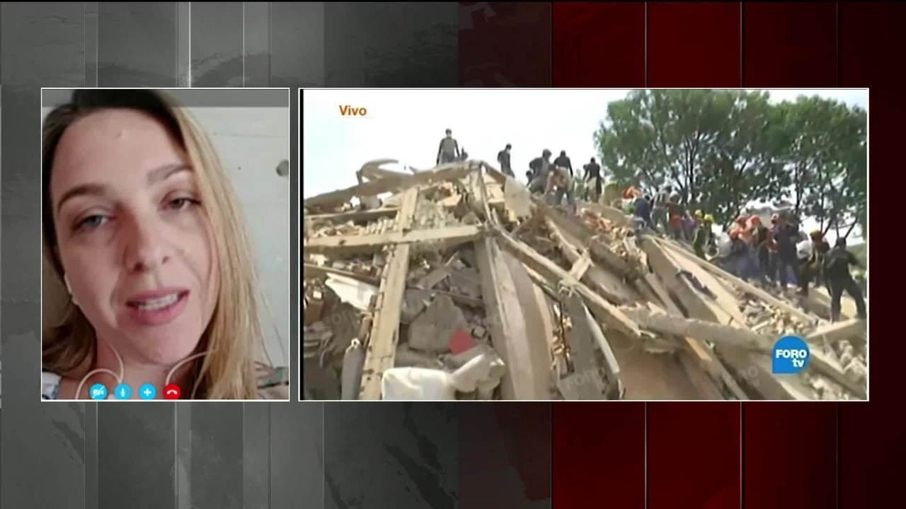 Jornalista brasileira que mora na Cidade do México relata o momento do terremoto