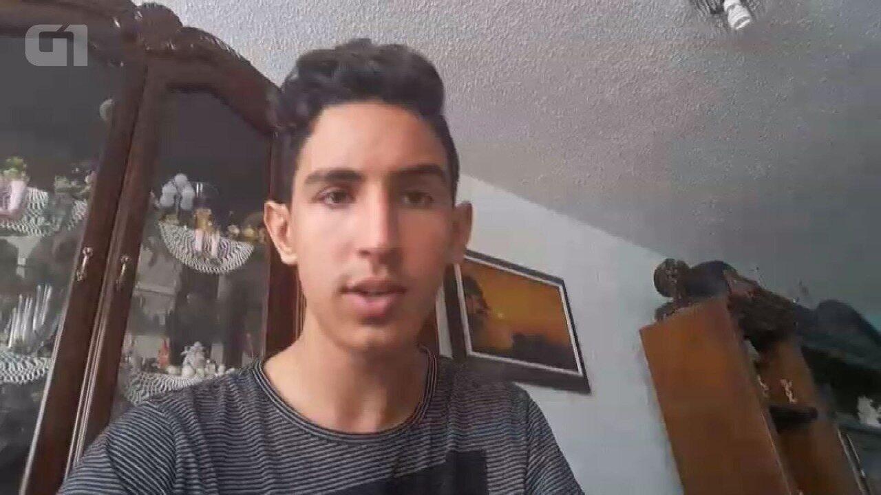 Anderson Junqueira Rocha é estudante e relata o terremoto no México
