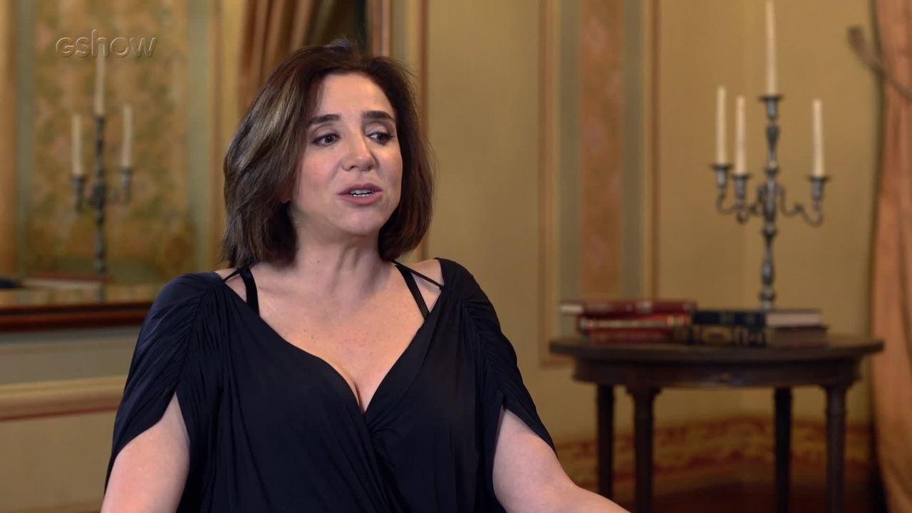 Marisa Orth conta como se preparou para viver um cantora de fado em 'Tempo de Amar'