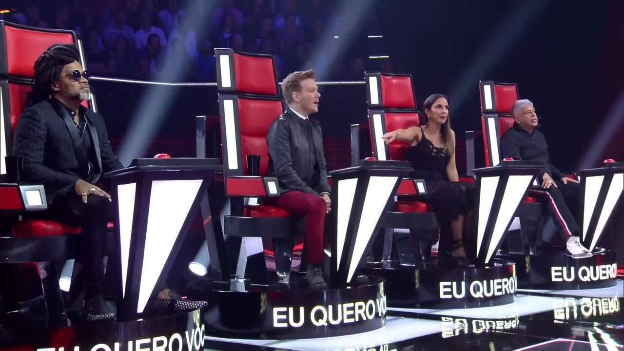 Spoiler da primeira audição do The Voice Brasil