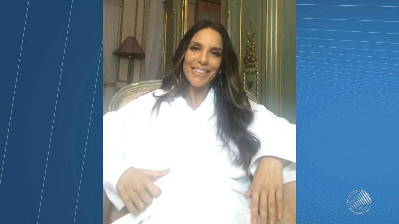Ivete anuncia que está fora do carnaval de 2018 por causa da gravidez