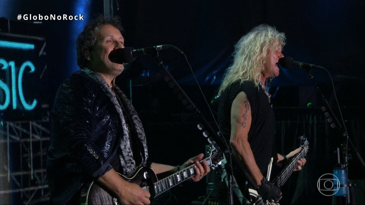 Def Leppard canta 'Animal' no Palco Mundo do Rock in Rio