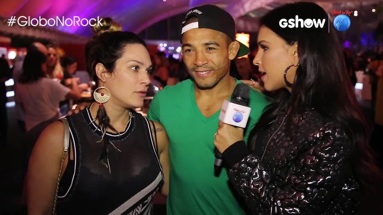 José Aldo comenta assédio de fãs no 'Rock in Rio'