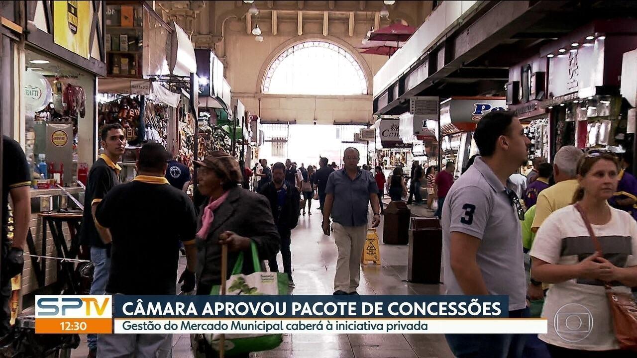 Câmara de São Paulo aprova pacote de concessões de João Doria