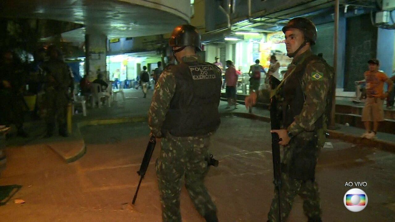Forças Armadas chegam à Rocinha para conter violência entre facções rivais